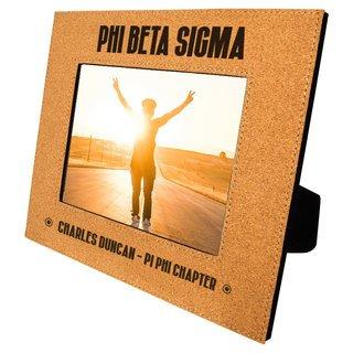 Phi Beta Sigma Cork Photo Frame