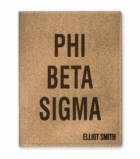 Phi Beta Sigma Cork Portfolio with Notepad