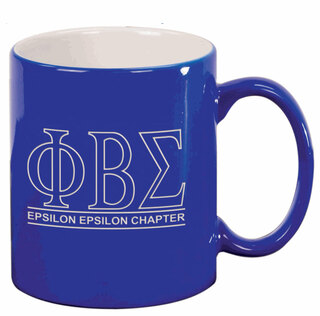 Phi Beta Sigma Custom Ceramic Coffee Mug