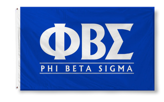 Phi Beta Sigma Custom Line Flag