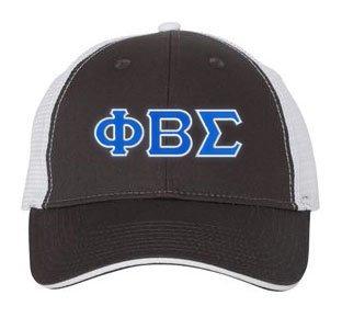 Phi Beta Sigma Double Greek Trucker Cap