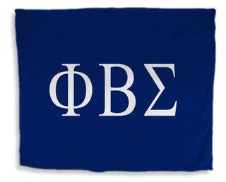 Phi Beta Sigma Flag Giant Velveteen Blanket