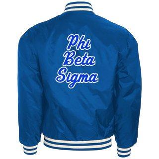 Phi Beta Sigma Heritage Letterman Jacket