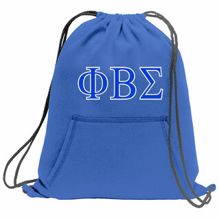 Phi Beta Sigma Fleece Sweatshirt Cinch Pack