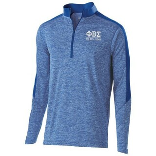 Phi Beta Sigma Fraternity Electrify 1/2 Zip Pullover