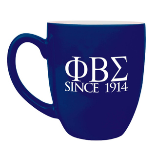 Phi Beta Sigma Greek Bistro Mug
