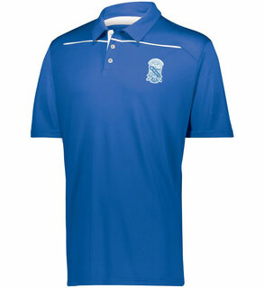 Phi Beta Sigma Greek Crest Emblem Defer Polo