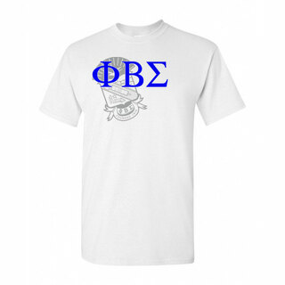 Phi Beta Sigma Greek Crest - Shield T-Shirt
