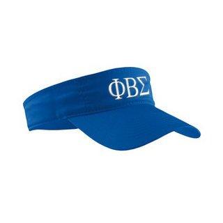 Phi Beta Sigma Greek Letter Visor