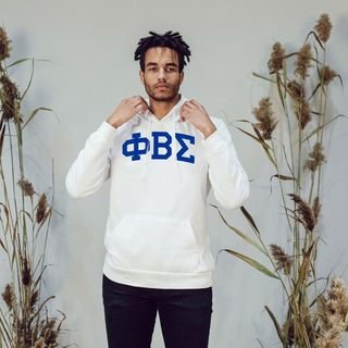 Phi Beta Sigma Greek Lettered Arch Hooded Sweatshirt