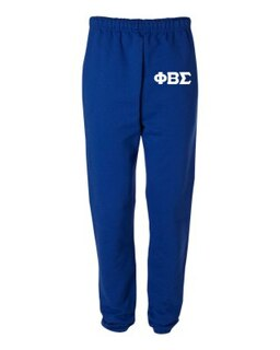 Phi Beta Sigma Greek Lettered Thigh Sweatpants