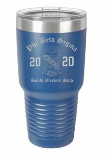 Phi Beta Sigma Insulated Tumbler