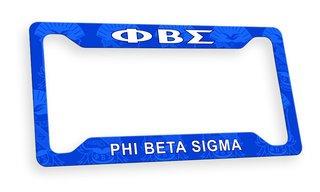 Phi Beta Sigma Custom License Plate Frame