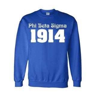 Phi Beta Sigma Logo Crewneck Sweatshirt