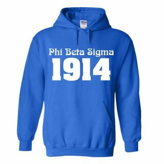 Phi Beta Sigma Logo Hooded Sweatshirt