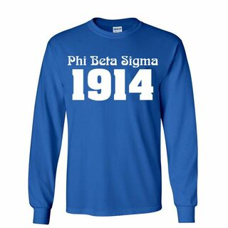 Phi Beta Sigma Logo Long Sleeve Tee