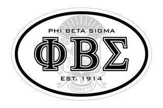 Phi Beta Sigma Oval Crest - Shield Bumper Sticker