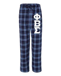 Phi Beta Sigma Pajamas Flannel Pant