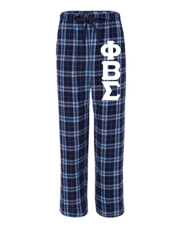 Phi Beta Sigma Pajamas Flannel Pant