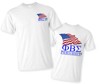 Phi Beta Sigma Patriot Limited Edition Tee- $15!