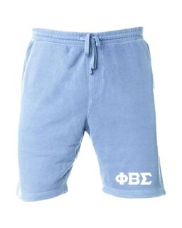 Phi Beta Sigma Pigment-Dyed Fleece Shorts