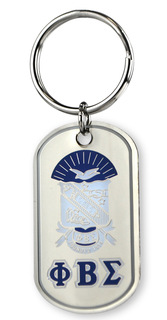 Phi Beta Sigma Reversible Key Chains