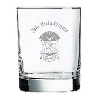 Phi Beta Sigma Old Style Glass
