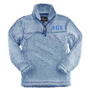 Phi Beta Sigma Sherpa Pullover