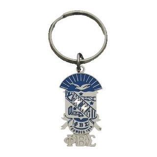 Phi Beta Sigma Shield Key Chain