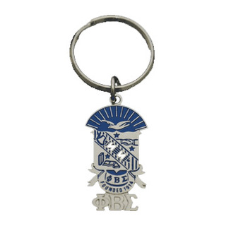 Phi Beta Sigma Shield Key Chain