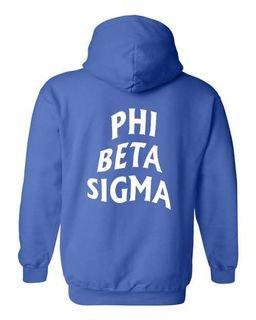 Phi Beta Sigma Social Hooded Sweatshirt