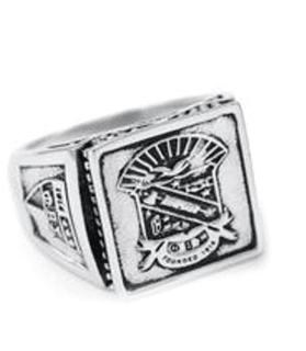 Phi Beta Sigma  Sterling Silver Ring