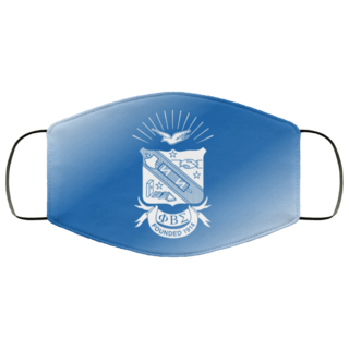 Phi Beta Sigma Super Crest Face Masks