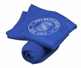 Phi Beta Sigma Sweatshirt Blanket