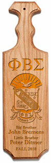 Phi Beta Sigma Traditional Greek Paddle