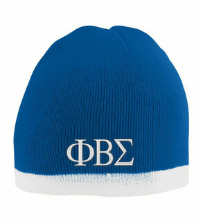 Phi Beta Sigma Two Tone Knit Beanie