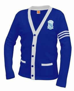 Phi Beta Sigma Varsity Cardigan Sweater