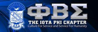 Phi Beta Sigma Vinyl Banner