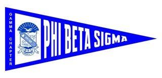 Phi Beta Sigma Wall Pennants