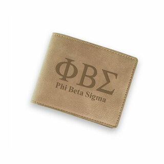 Phi Beta Sigma Fraternity Wallet