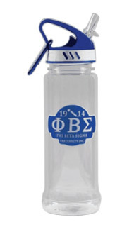 Phi Beta Sigma Water Bottle W/Carabiner Hook
