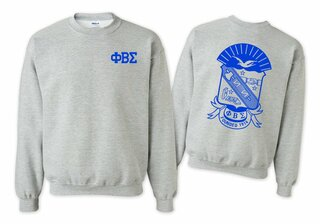 Phi Beta Sigma World Famous Crest - Shield Crewneck Sweatshirt- $25!
