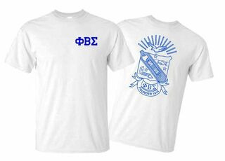 Phi Beta Sigma World Famous Crest - Shield Tee