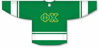 Phi Chi Breakaway Lettered Hockey Jersey