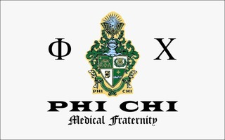 Phi Chi Flag Decal Sticker