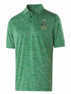Phi Chi Greek Crest Emblem Electrify Polo