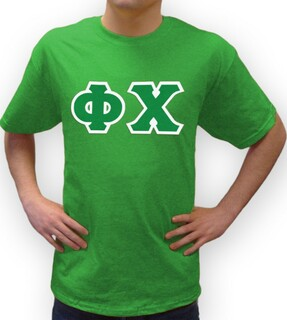 Phi Chi Lettered T-Shirt