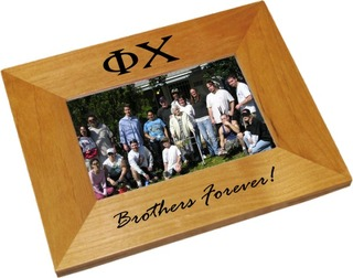 Phi Chi Wood Picture Frame