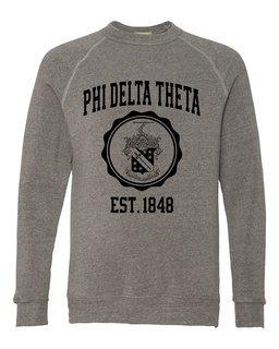 Phi Delta Theta Alternative - Eco-Fleece� Champ Crewneck Sweatshirt