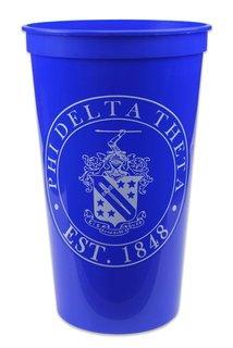 Phi Delta Theta Big Plastic Stadium Cup